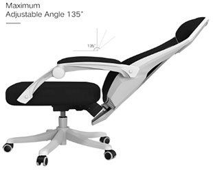 Hbada Office Adjustable Chair - Best Office Chair Under 200 Dollars