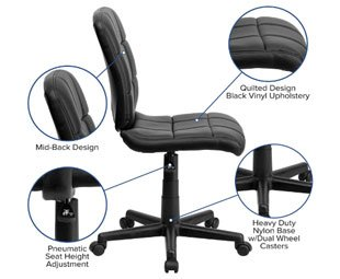Flash Furniture - Best Office Chair Under $300