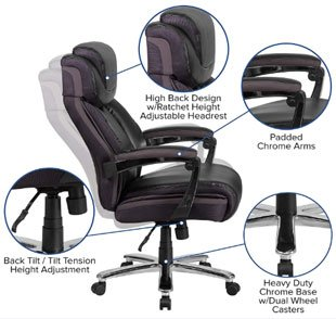 Flash Furniture - Best Office Chair Under 300 Dollars