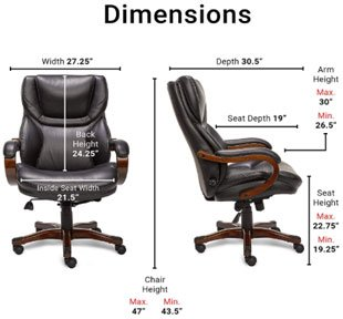 Serta - Best Office Chair Under $300