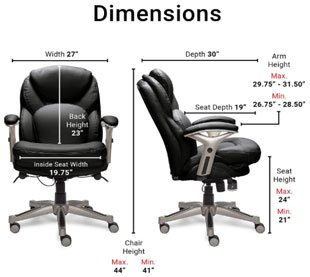 Serta - Best Office Chair Under $200